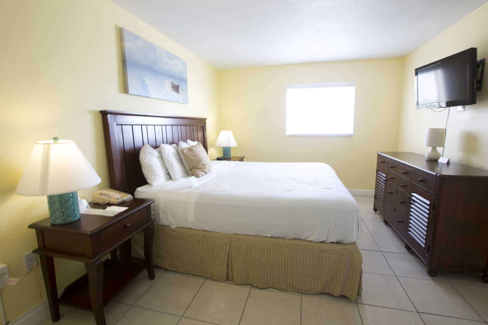 One Bedroom Suite with King bed on Fort Myers Beach Florida