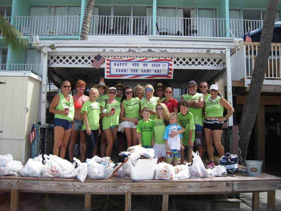 Lani Kai Island Resort Beach Clean-up
