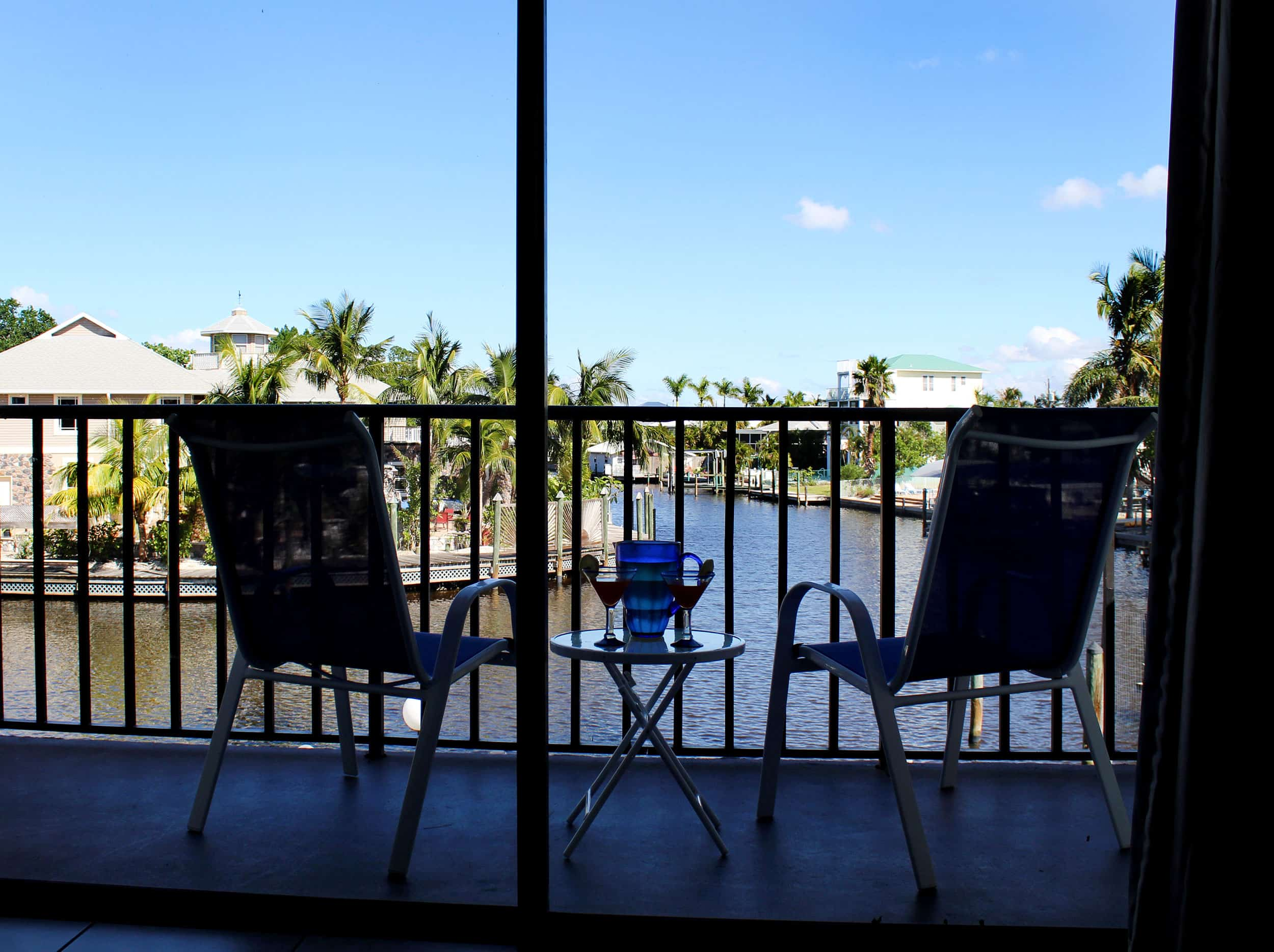 Fort Myers Beach Hotel Deluxe Suite Balcony 2
