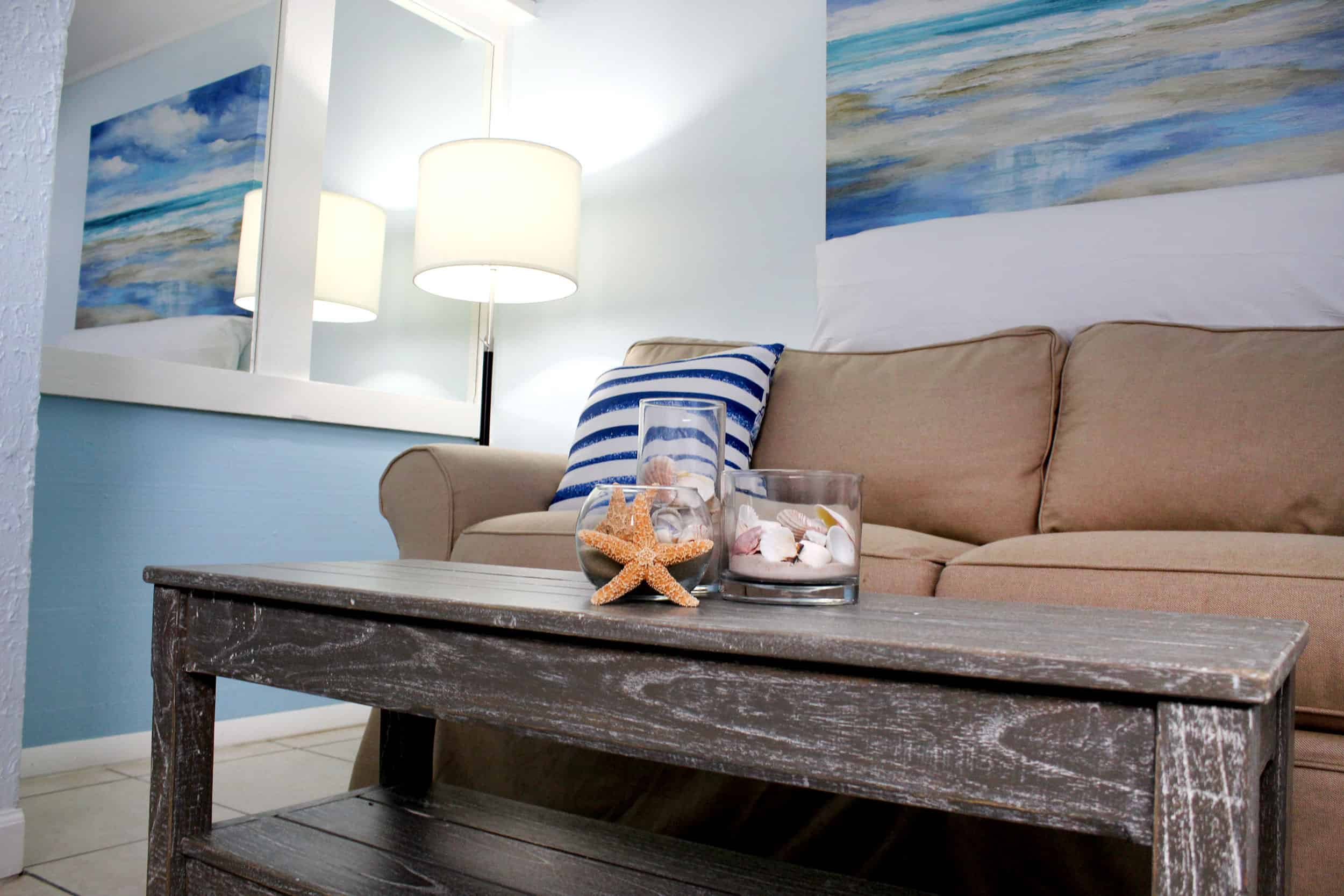 Fort Myers Beach Hotel Standard Living Room 2