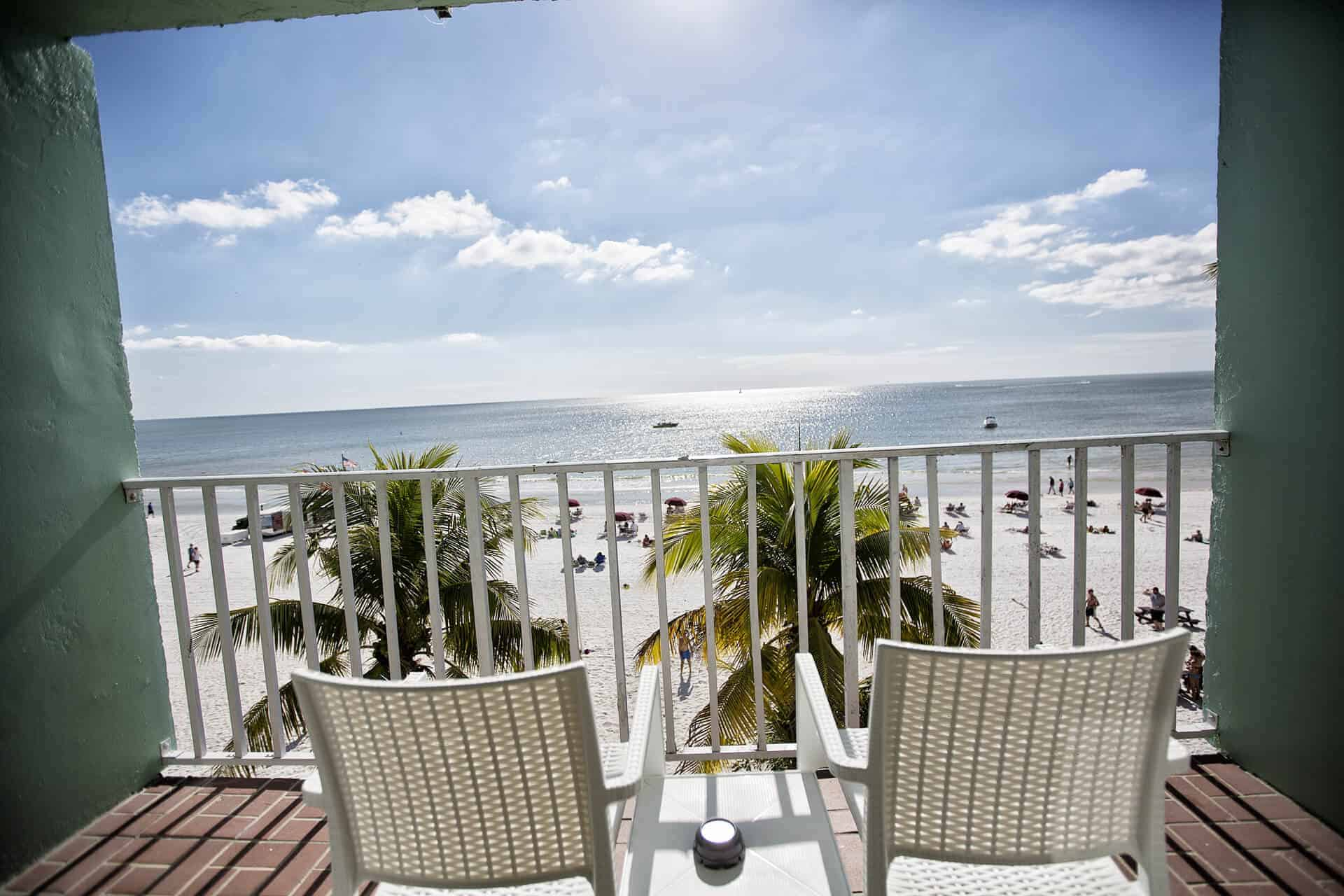 Balcony - Studio Beachfront