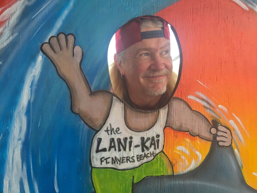 Lani Kai Island Resort | Mural Artist: Alan Mishiga | Fort Myers Beach
