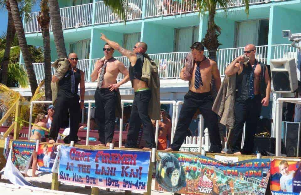 Lani Kai Spring Break | Cincinnati Firemen Stripping | Fort Myers Beach