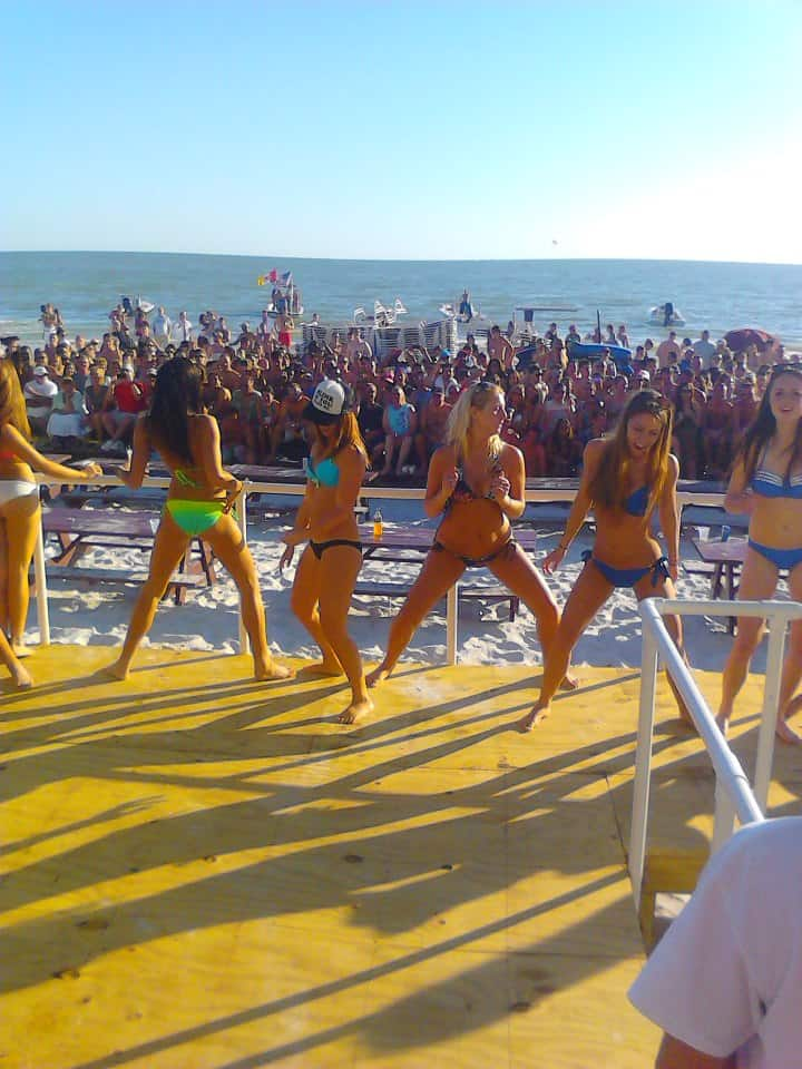 Lani Kai Spring Break | Girls in Booty-shaking Competition Stage | Fort Myers Beach