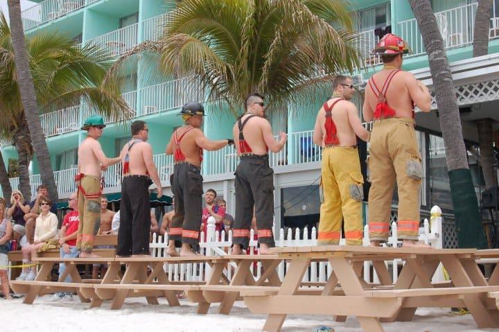 Lani Kai Spring Break | Cincinnati Firemen performing | Fort Myers Beach