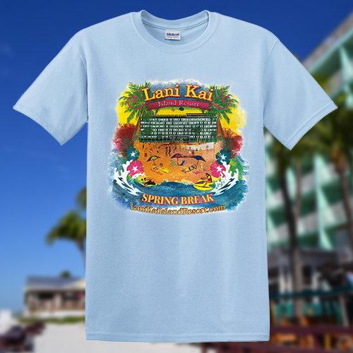 Lani Kai Spring Break T-shirt lightblue | 2017-spring-break-tshirt-lightblue2
