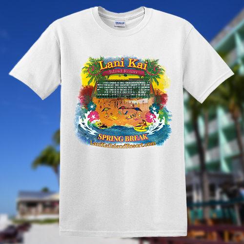 Lani Kai Spring Break T-shirt White | 2017-spring-break-tshirt-white2