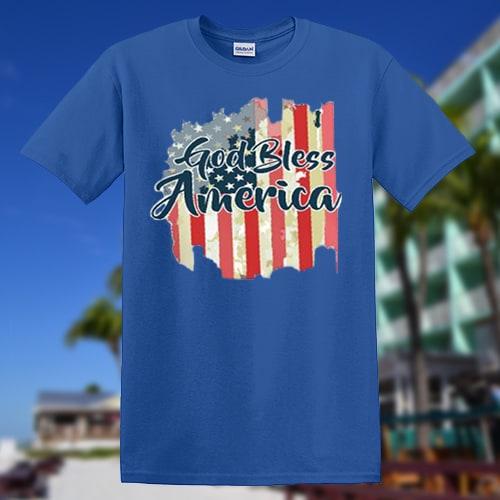 God bless america T-shirt | god-bless-america-tshirts-with-bg