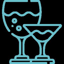 Wine graphic blue | wine