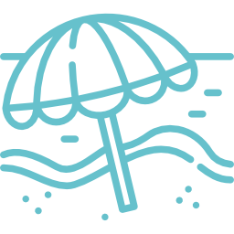 Umbrella graphic blue | 001-sun-umbrella-blue