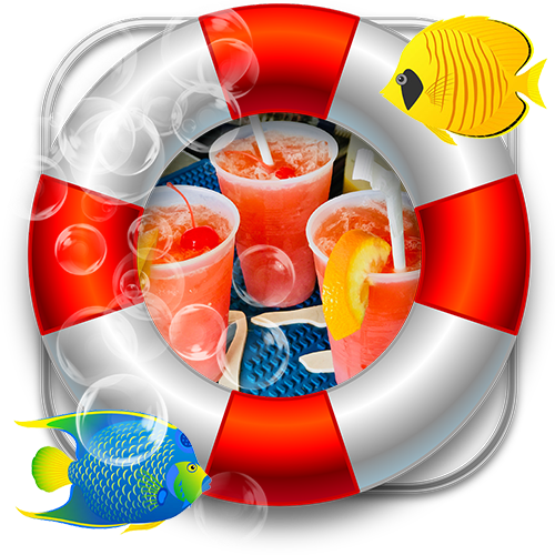 Pirate drinks graphic | byou-drinks-pirate-weekend