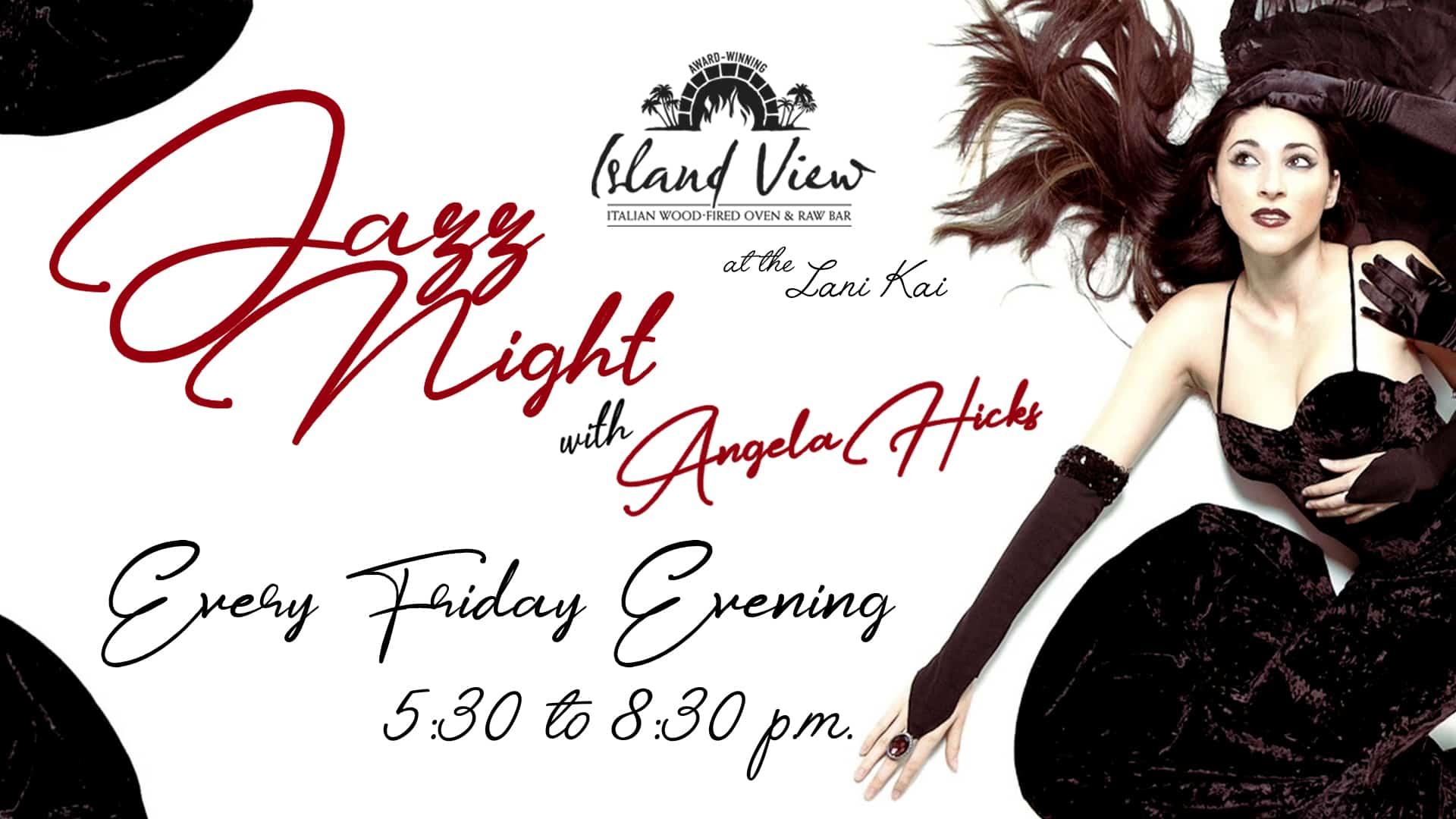 Angela Hicks Jazz Night | Jazz Night in the IV-3