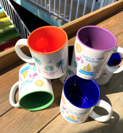 Lani Kai mugs together in multiple colors | Lani Kai Mugs - Multiple Colors