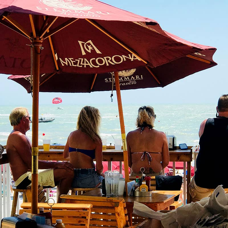 Sabal Palm Bar and Patio | Roar Offshore Fort Myers Beach