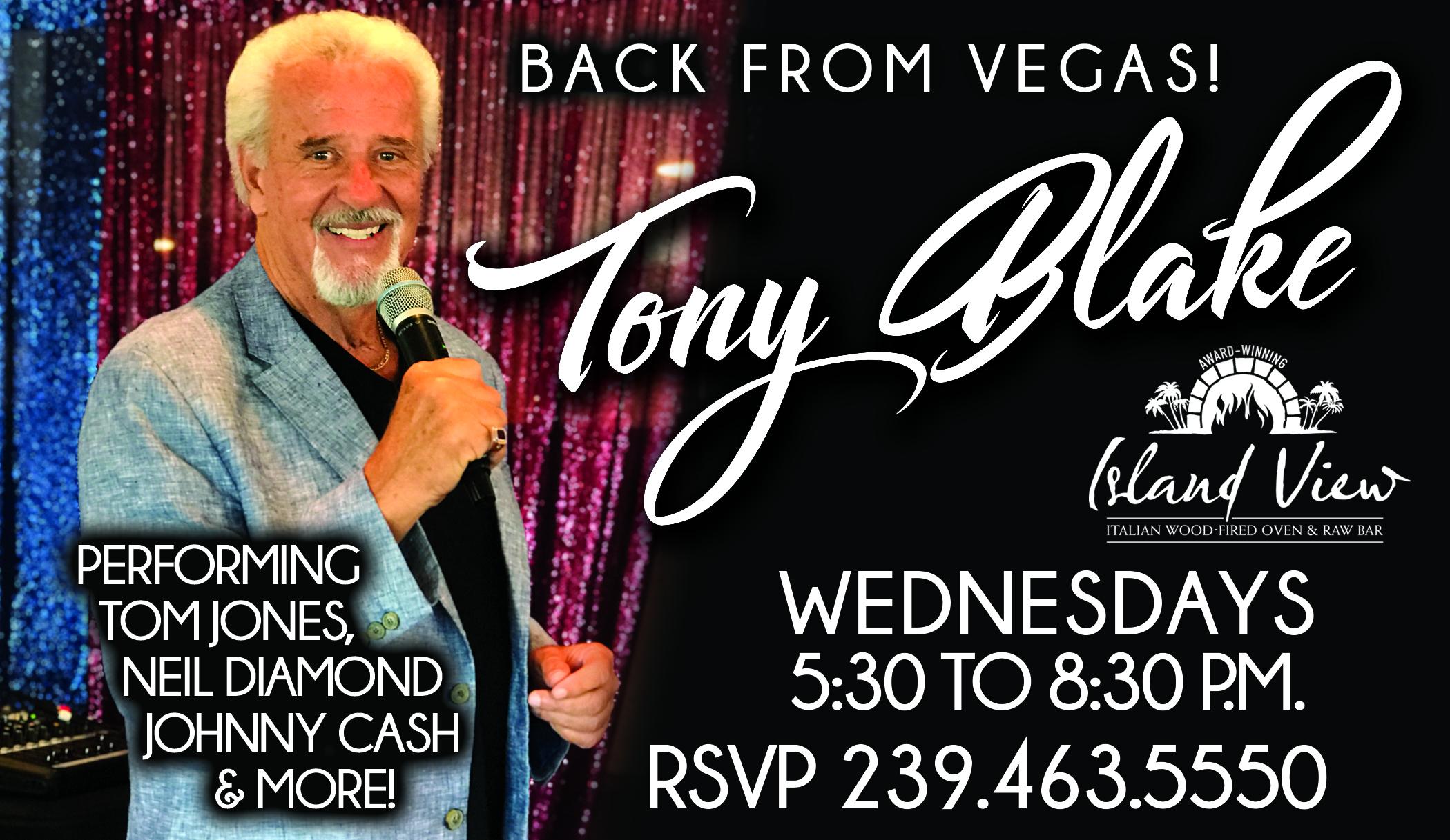 Tony Blake Wednesdays